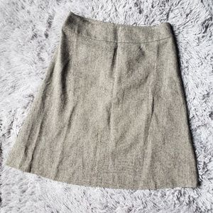 Ann Taylor lined wool skirt CA